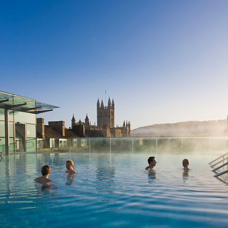 Bath, thermal spa,