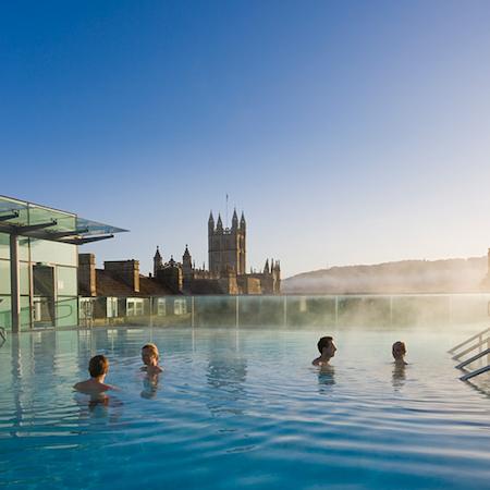 Bath, thermal spa,