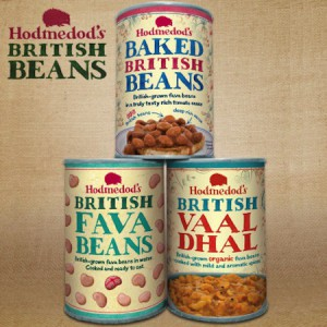 British grown peas and beans