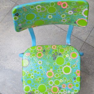Mandisa's upcycled chairs