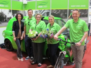The Green Courier electric vans