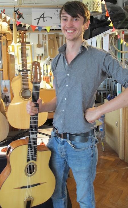 UK made guitars