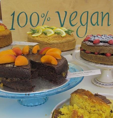 Vegan cakes in london