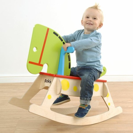 British made child's rocking horse