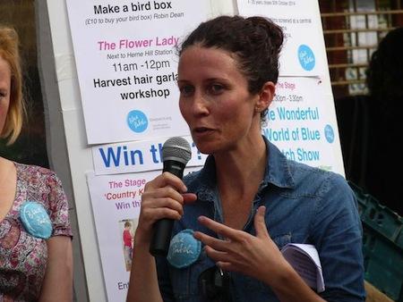 Emma Kirby, vegan eco warrior