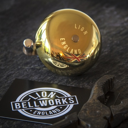 British made brass bicycle bells