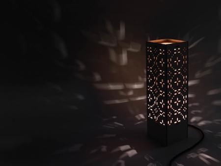 sustainable light, eco lighting, welsh wood