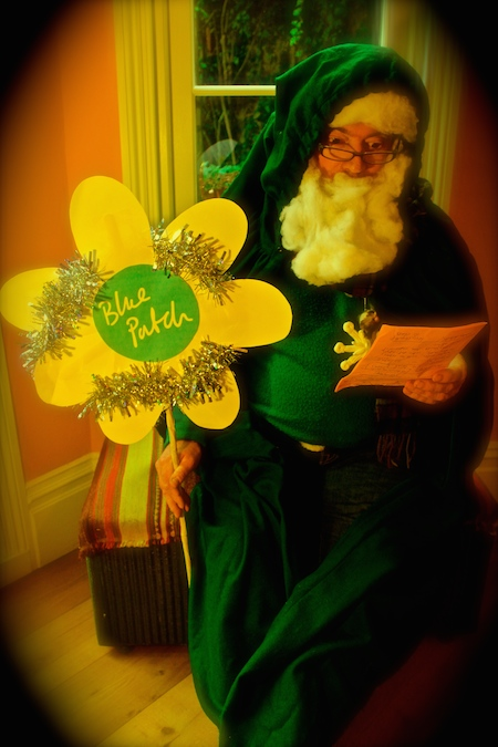 Green Santa, Bluepatch, Father Christmas