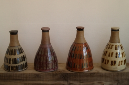 ceramics, vinegar jars