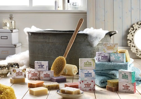 British made soap with natural ingredients