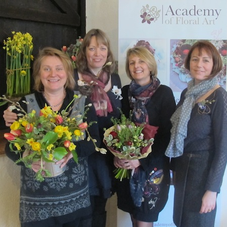professional courses for Florists, Britain