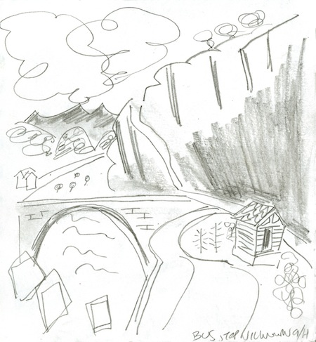 Drawing by Jason Shuttleworth