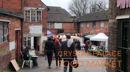Transition town food market