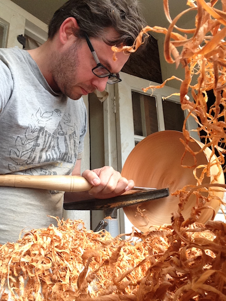 woodturning, craftsman, England