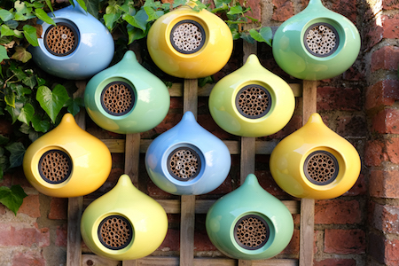 homes for solitary bees