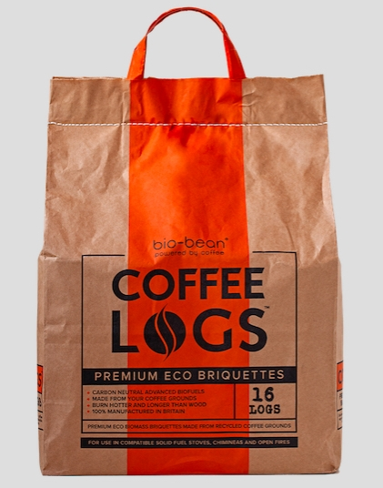 eco-friendly coffee logs