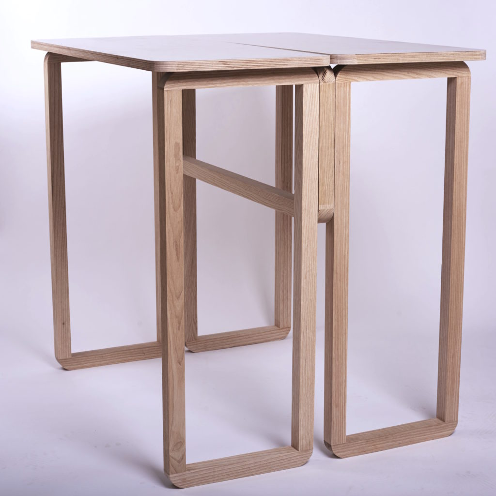 Flat pack designer tables, desks and chairs, Studio perki