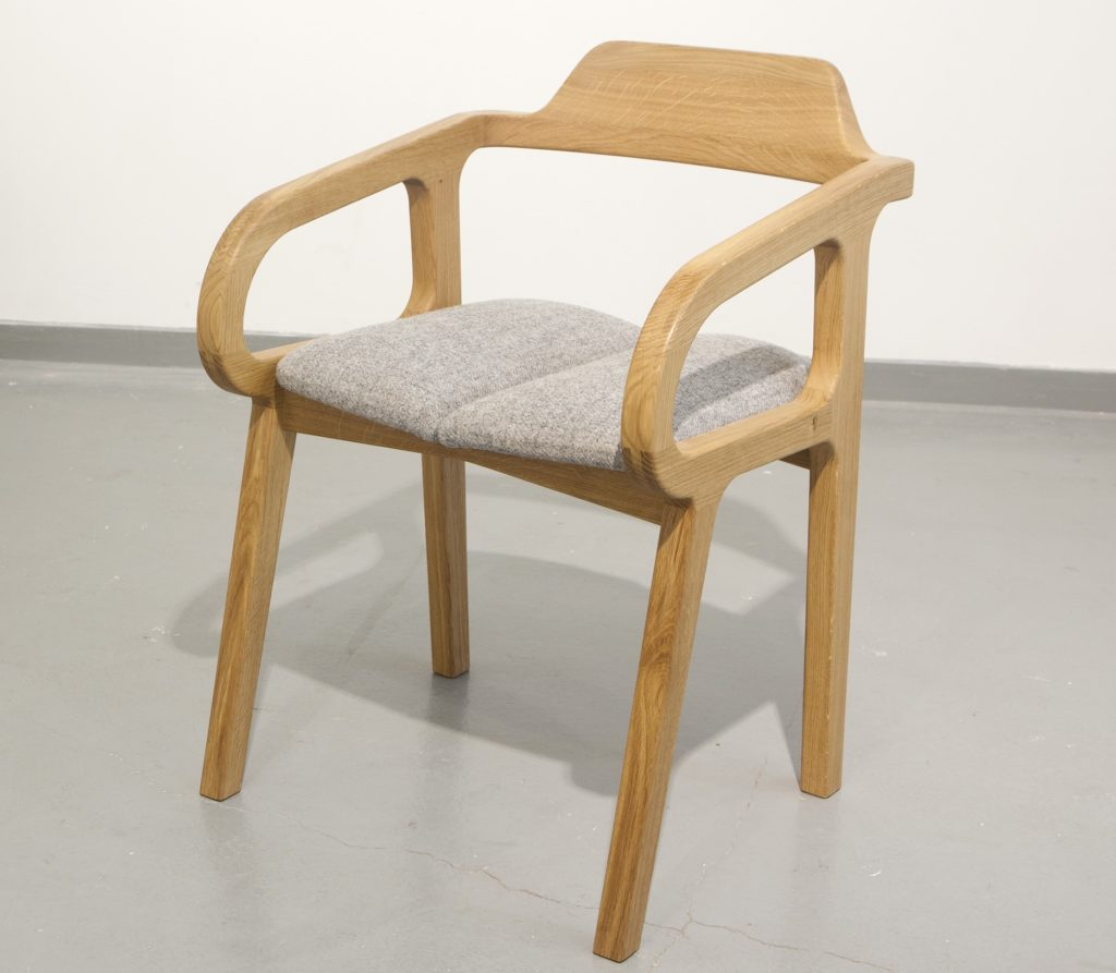 handcrafted, sustainable oak and walnut furniture