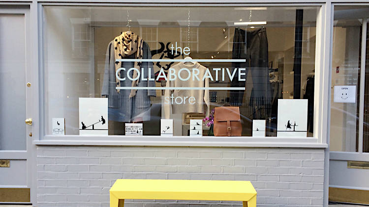 The collaborative store, Marylebone, Power of positive shopping, bluepatch