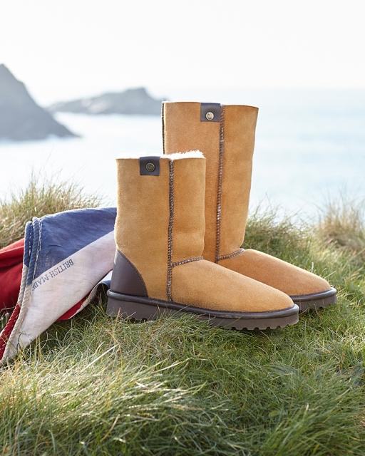 Celtic & Co uk sheepskin boots