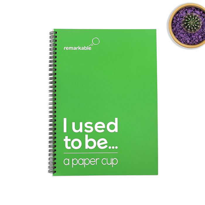 remarkable recycled plastic notebooks