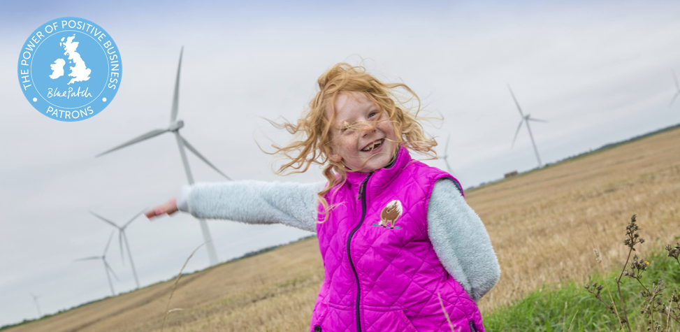 Thrive Renewables are Blue Patch Gold Patrons