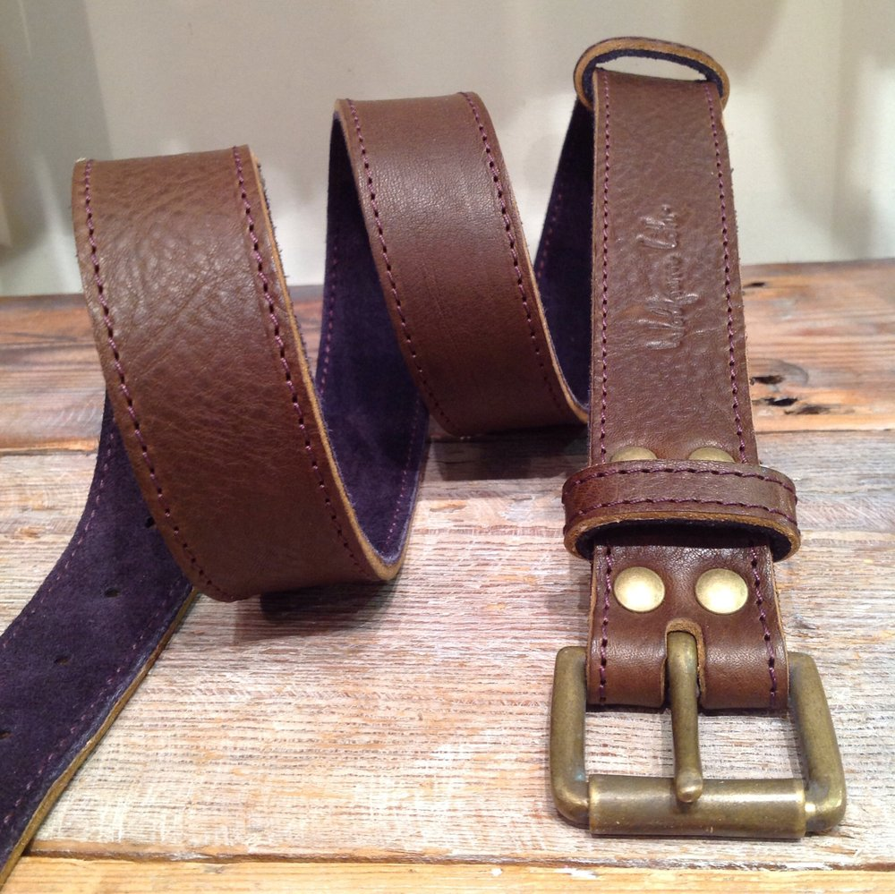 Wolfram Lohr leather belt