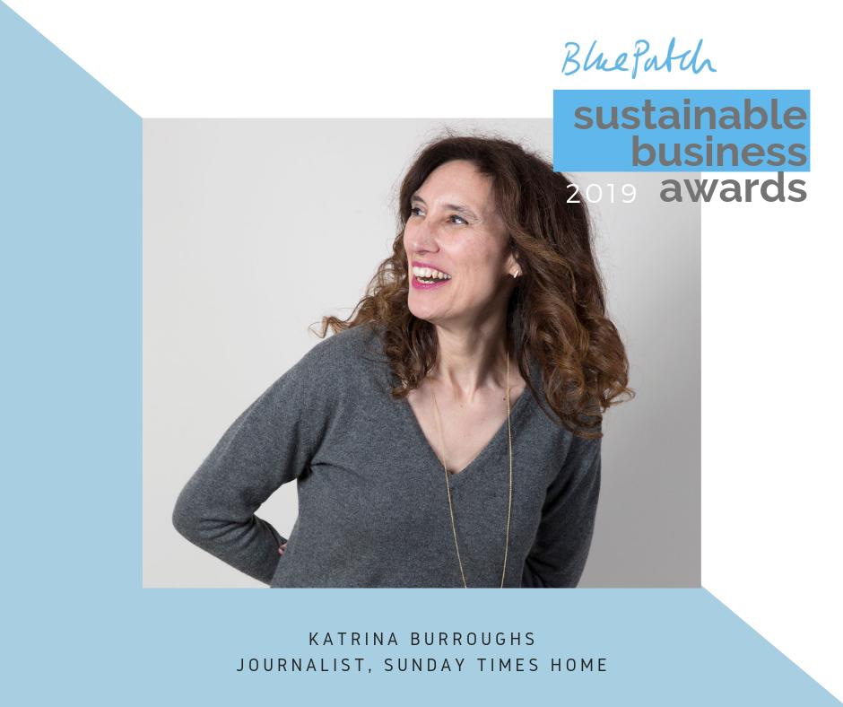 Katrina Burroughs Blue Patch Awards judge 2019