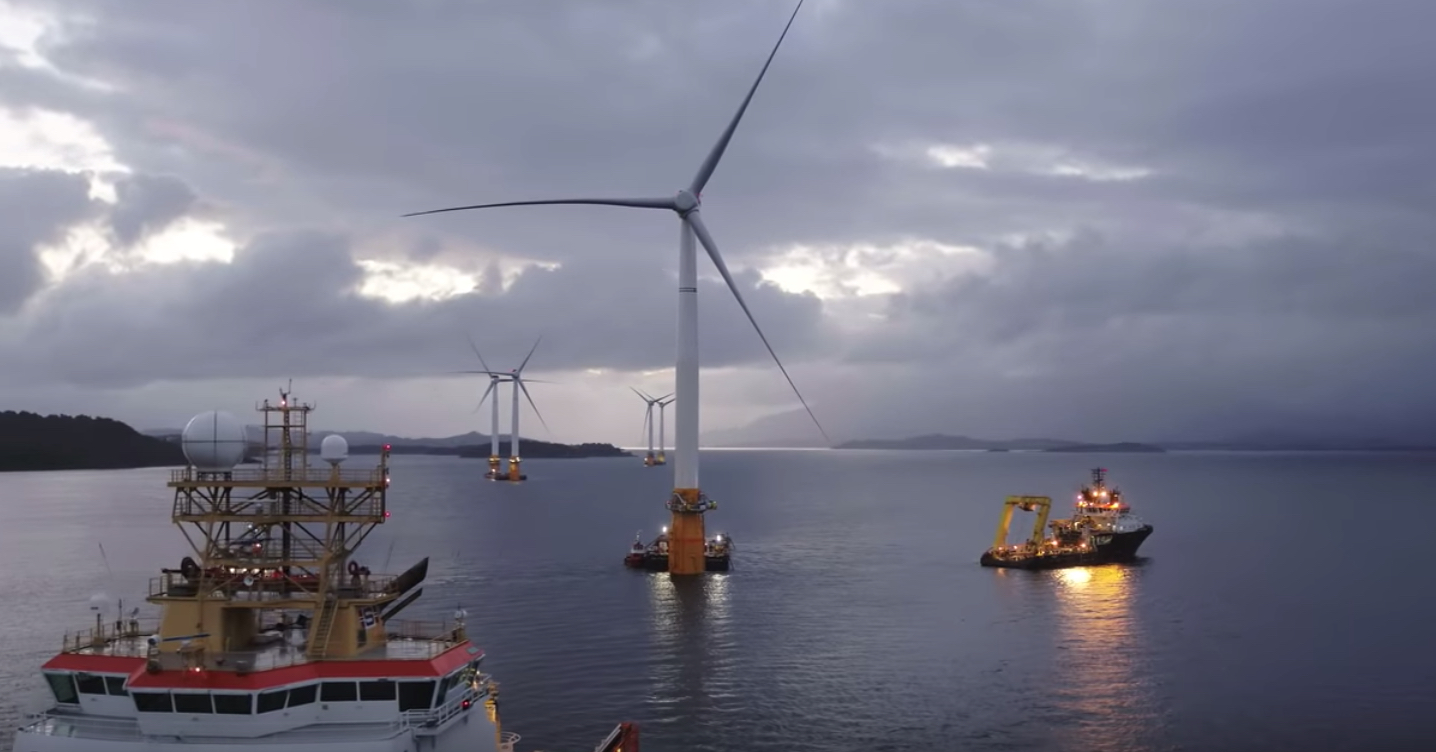 Hywind Scotland, Floating Turbine
