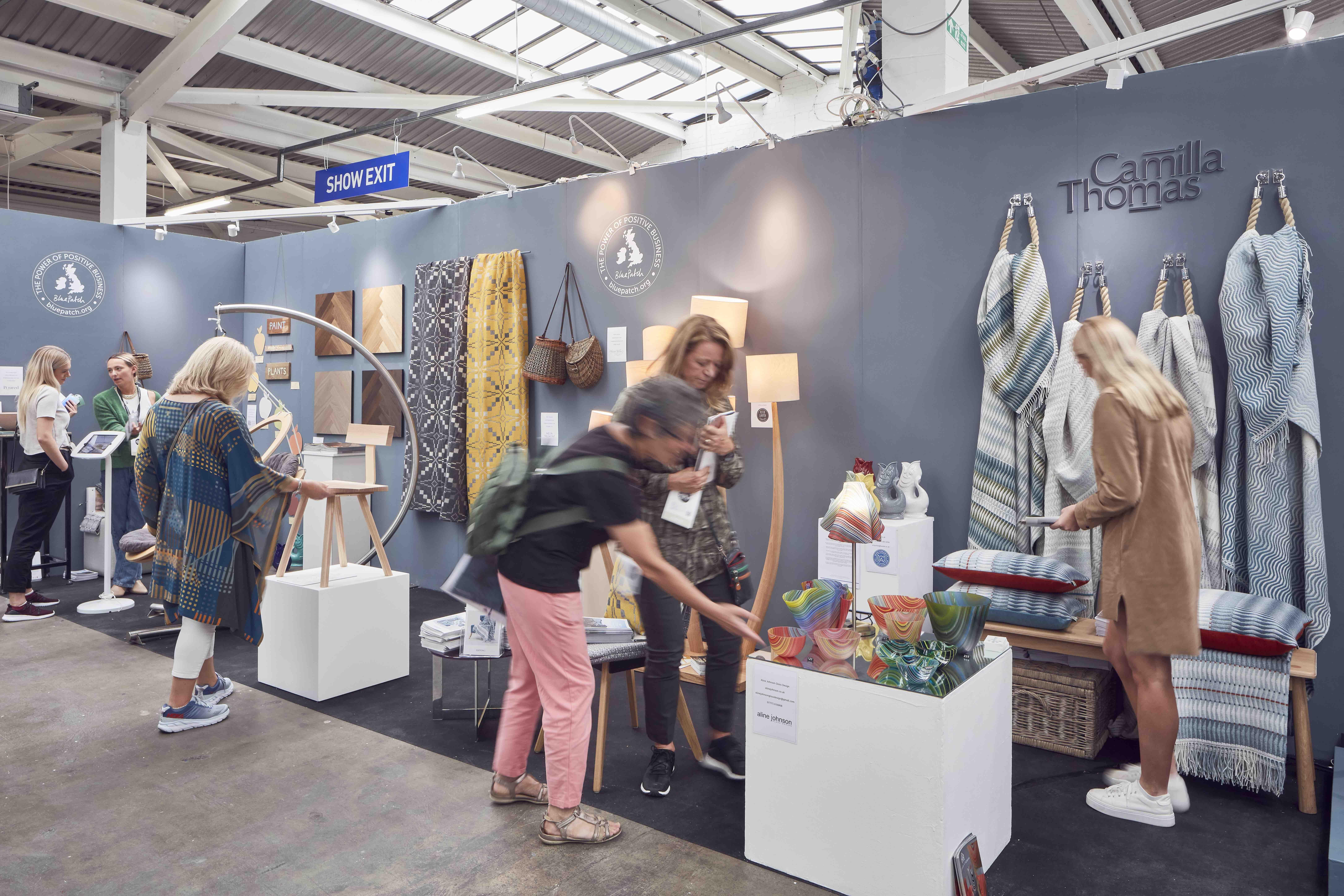 London Design Fair - Blue Patch