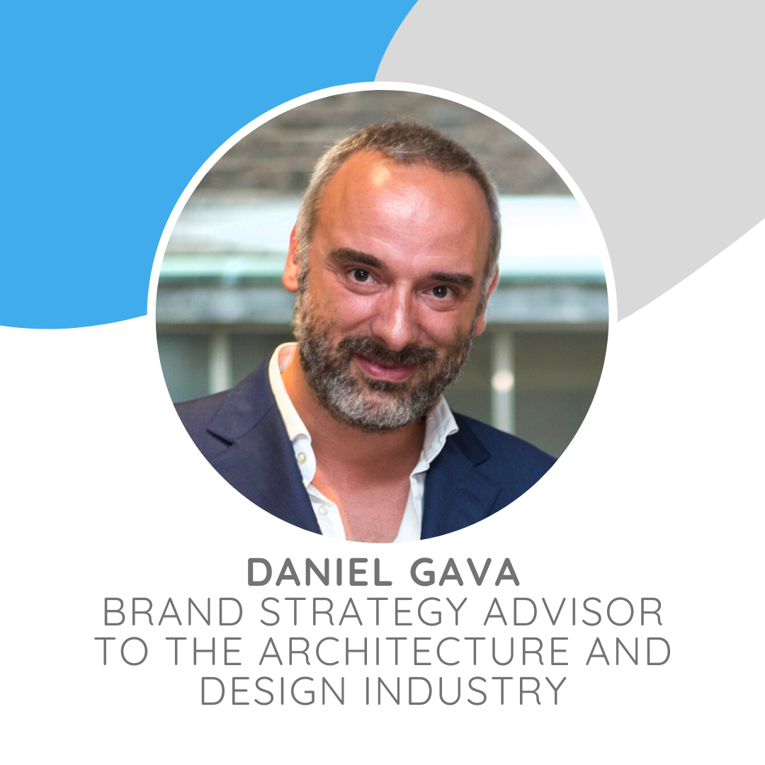 Daniel Gava has more than twenty years of professional experience in the design industry