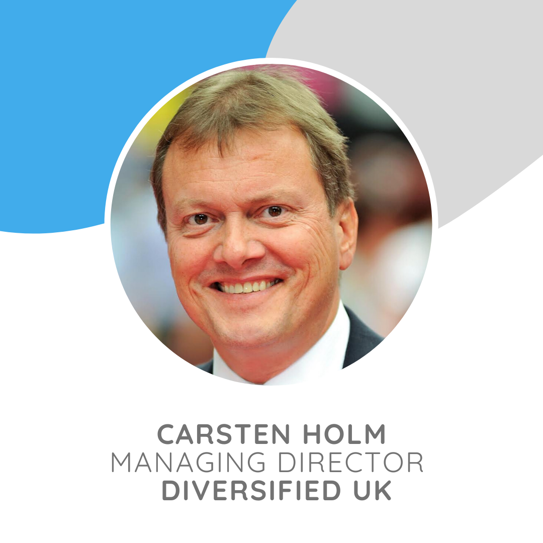 Carsten Holm is the Managing Director of Diversified UK, heading up a team of highly talented, creative people.