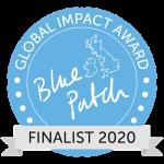 Global impact award finalist logo